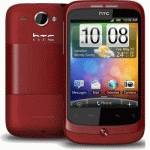 HTC A3333 Wildfire Red