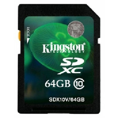 Kingston 64GB SDX10V-64GB